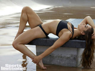 Aly Raisman in Sports Illustrated Swimsuit Issue