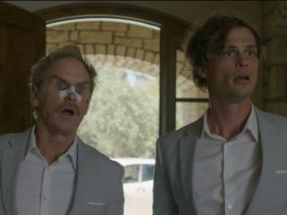 Jere Burns and Matthew Gray Gubler in Hot Air
