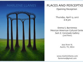 "Marlene Llanes presents ""Places and Perceptions"" opening reception"