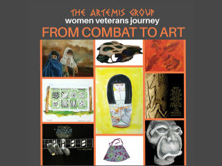 From Combat to Art: Women Veterans Journey Exhibit Opening