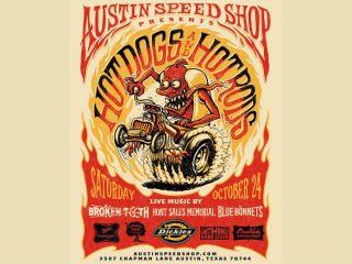 Austin Speed Shop & Dickies Host Annual Hot Dogs & Hot Rods 10/24
