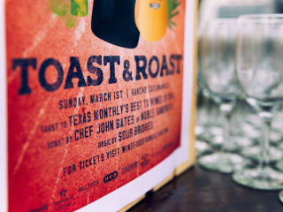 The Wine & Food Foundation of Texas presents 2nd Annual Toast & Roast