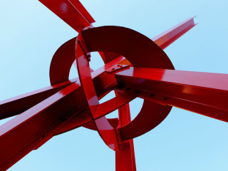 Mark di Suvero_Clock Knot_2007_University of Texas