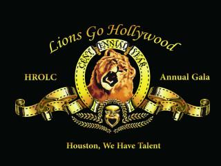 Houston Royal Oaks Lions Club presents Lions Go Hollywood