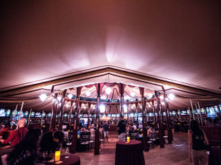 Cabaret Da Camera at the Bayou Bend Spiegeltent