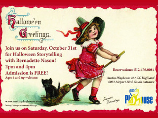 Halloween Storytelling with Bernadette Nason