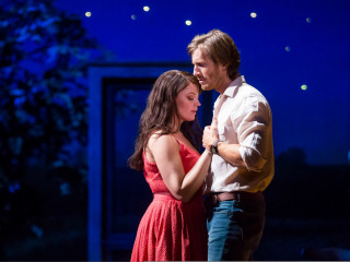 Elizabeth Stanley and Andrew Samonsky in The Bridges of Madison County