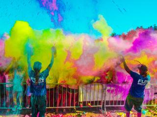 color fun fest 5k carnival event culturemap dallas