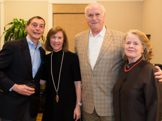 Tony and Heather Tripodo with gala honorees Fred and Josie Nevill