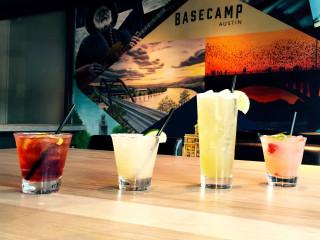 BaseCamp Austin sports bar Warehouse District cocktails drinks 2016
