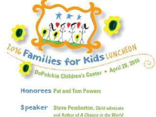 DePelchin Children's Center/2016 Families for Kids Luncheon