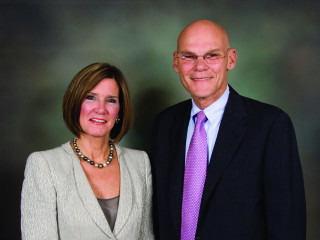 Mary Matalin and James Carville