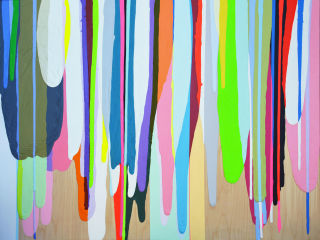 Anya Tish Gallery presents Puffy, Prickly, Poured