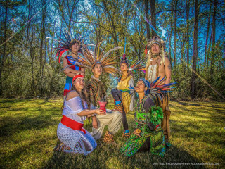 Young Audiences, Inc. of Houston presents Houston Aztec Dance & Drum