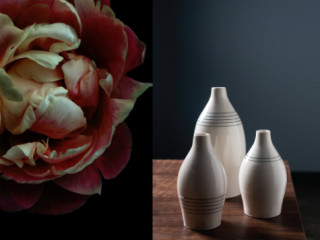 By George Holiday Pop-up - Porcelain Flowers - Ashley Woodson Bailey