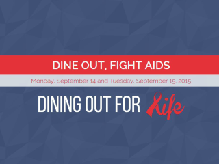 Dining Out For Life AIDS Services of Austin September 2015
