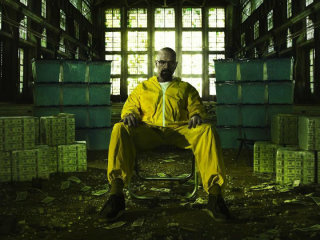 Walter White as Bryan Cranston in Breaking Bad