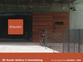 IEI gallery premier opening flyer