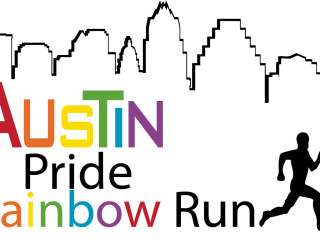 Austin Pride Rainbow Run 2013 graphic