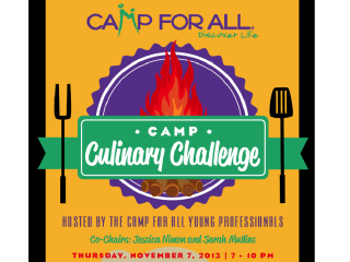 """Camp For All Young Professionals 2013 Fundraiser """"Camp Culinary Challenge"""""""