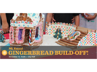 5th Annual Gingerbread Build-Off