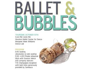 Ballet & Bubbles