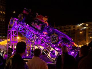 Red Bull Formula 1 car at Austin Fan Fest 2012