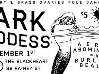Brass Ovaries presents Dark Goddess at the Blackheart