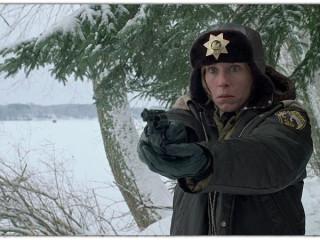 Frances McDormand as Marge Gunderson in Coen Brothers' Fargo