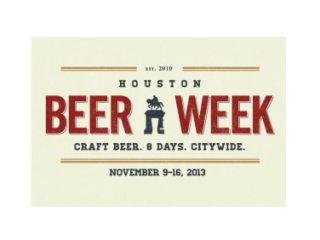 Houston Beer Week 2013