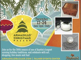flyer for 2013 Armadillo Christmas Bazaar