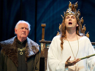 David Tennnant in Royal Shakespeare Company's Richard II