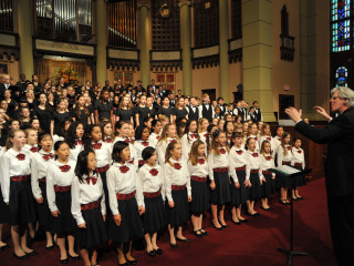 "Houston Chamber Choir presents ""Hear the Future: Annual Invitational School Choral Festival"""