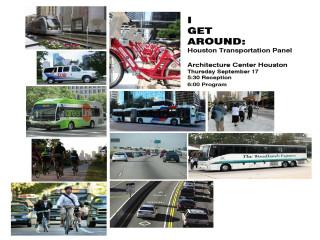 I Get Around: Houston Transportation Panel