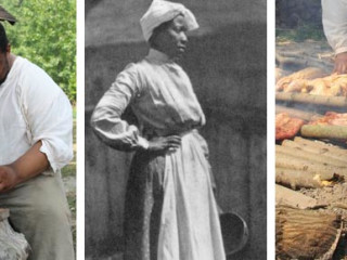 banner for History Around the Table talk about African American Cooks