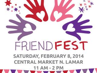 flyer for Creative Action's Friend Fest 2014