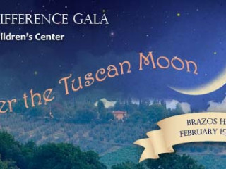 "banner for Making a Difference Gala ""Under the Tuscan Moon"""