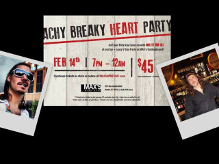 poster for Achy Breaky Heart Part at Max's Wine Dive billy ray cyrus theme