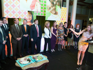 honorees from Austin Man and Woman of the Year for Leukemia and Lymphoma Society