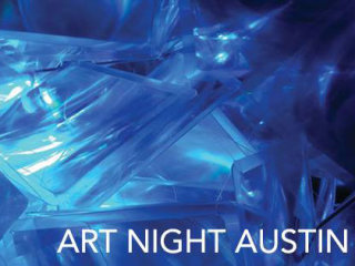 logo for Art Night Austin 2014