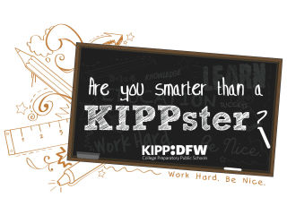 KIPP Dallas-Fort Worth presents Are You Smarter than a KIPPster?