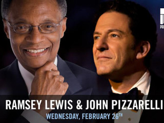 musicians Ramsey Lewis and John Pizzarelli