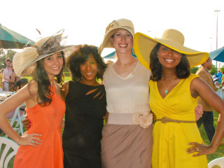 News_Health Museum_Triple Crown polo fundraiser_May 2012_Hasti Taghi_Joy Sewing_Beth Younger_Melinda Spaulding Chevalier