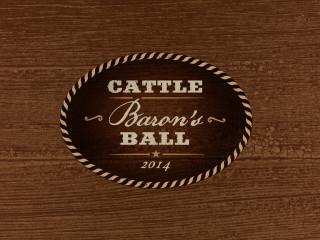 logo for the Austin Cattle Baron's Ball 2014