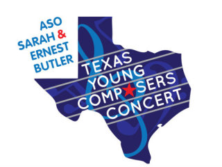 logo for 2014 Texas Young Composers competition and concert