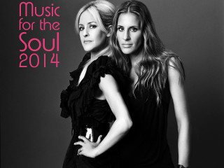 Martie Maguire and Emily Robison of Court Yards Hounds for Music for the Soul 2014