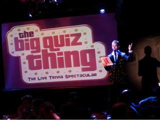 The Big Quiz Thing multimedia trivia show