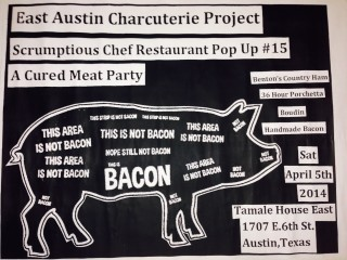 Scrumptious Chef presents East Austin Charcuterie Project