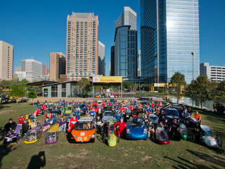 Eighth Annual Shell Eco-marathon Americas Competition