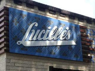 Lucille's, restaurant, sign